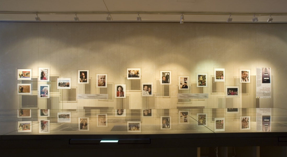 Tenant by tenant installation view