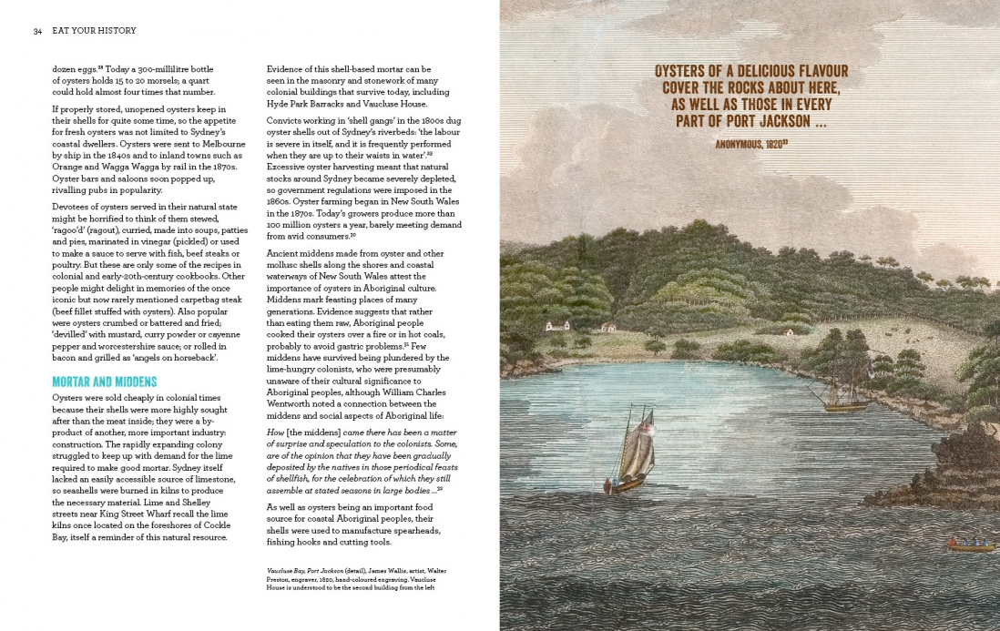 Page spread from Eat Your History book.