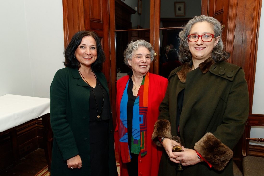 Joy English, Cecelia Clarke and her daughter, Anna Vale, at the Bel Canto in the Bush recital