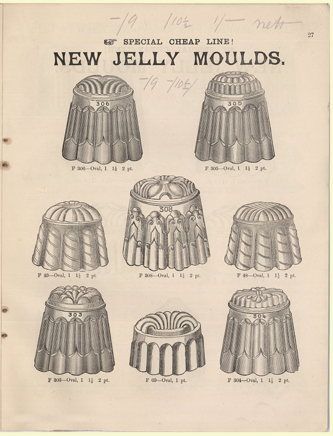 Jelly moulds