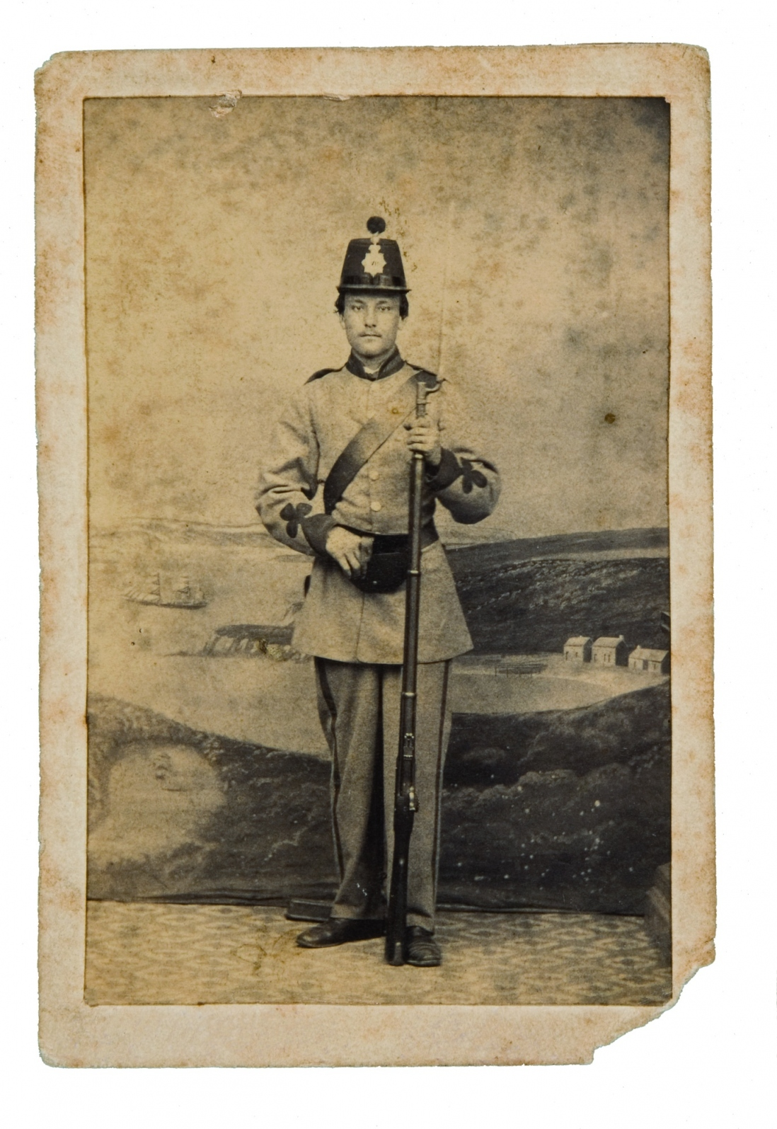 Private John Joseph Shying, No 5 Company Sydney Battalion Volunteer Rifle Corps, c1863