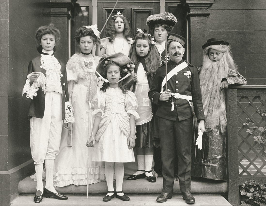 1800s fashion kids