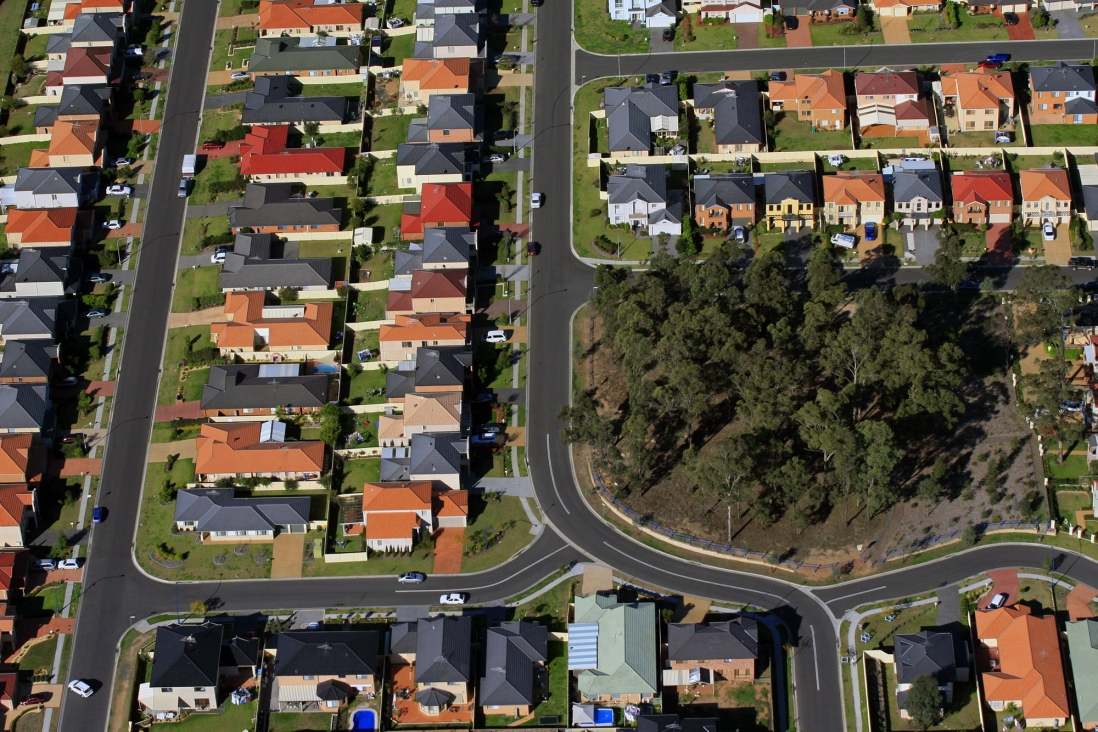 "Boomburbs - ""Edgewood: Aerial Photography of New Suburbia"""