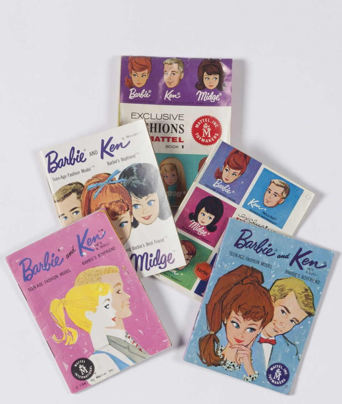 Barbie and Ken booklets, 1961