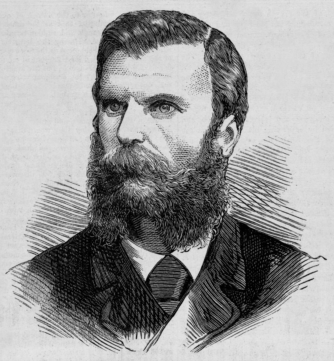 Illustration of bearded man.