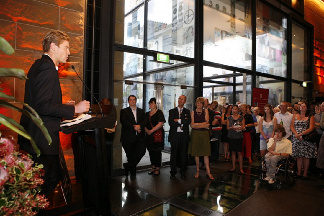 Tails of the City exhibition launch at the Museum of Sydney