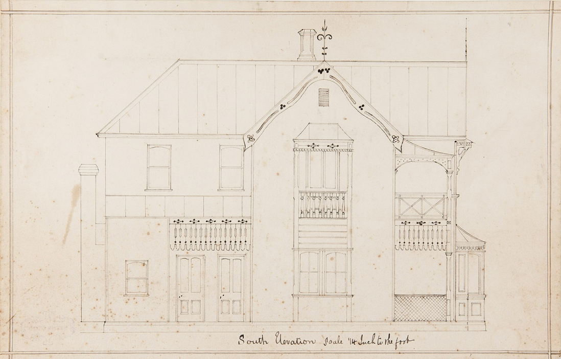 Plan of house.