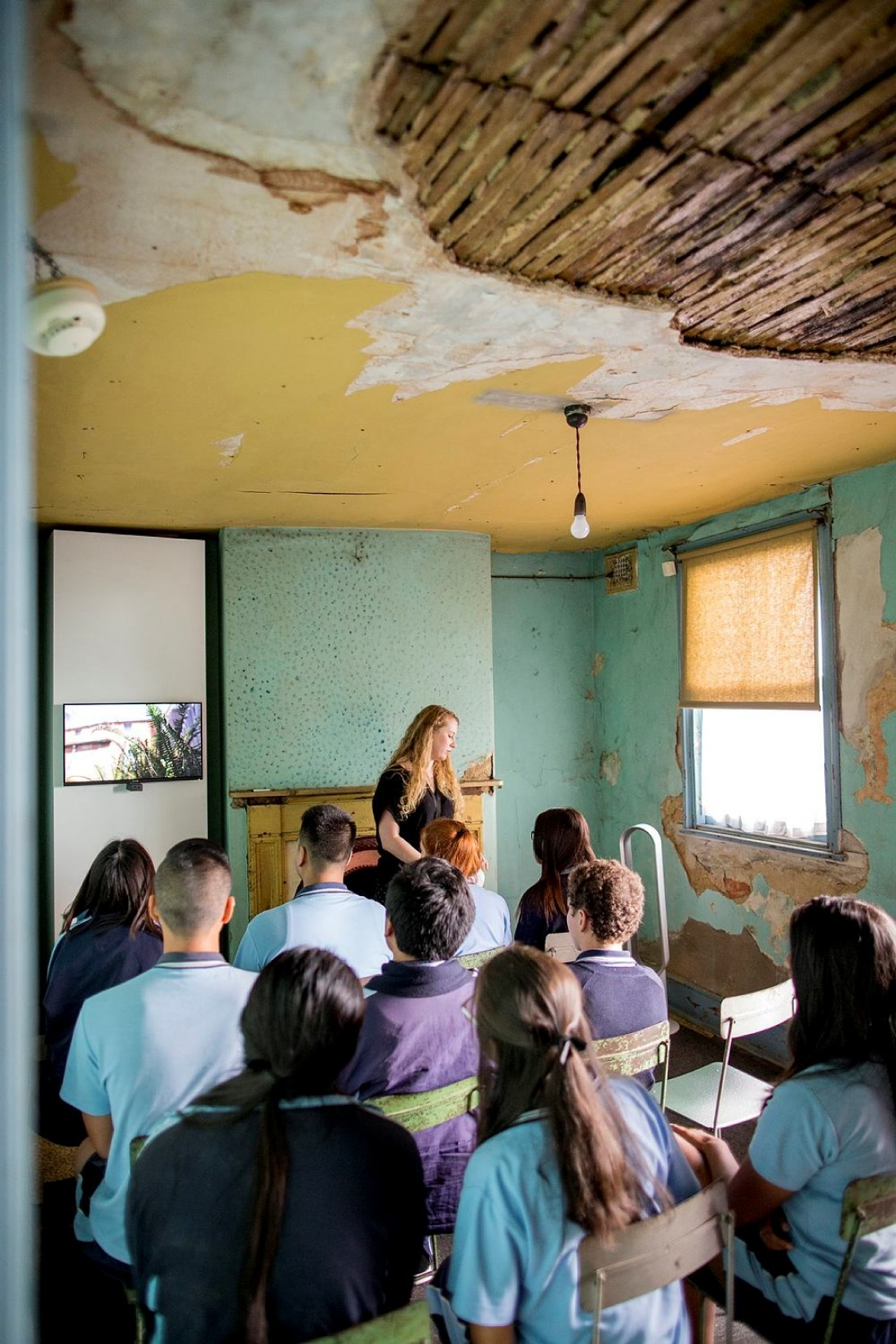 Susannah Place Museum gives students the chance to see conservation in action