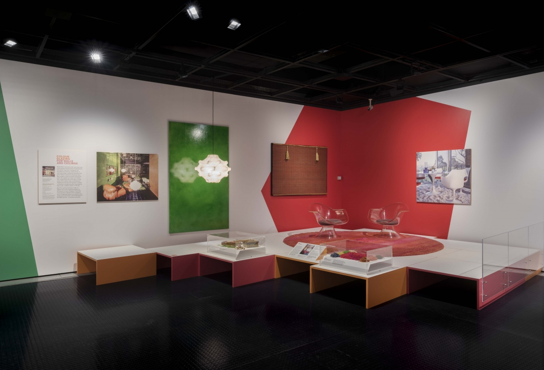 Marion Hall Best: Interiors exhibition installation view