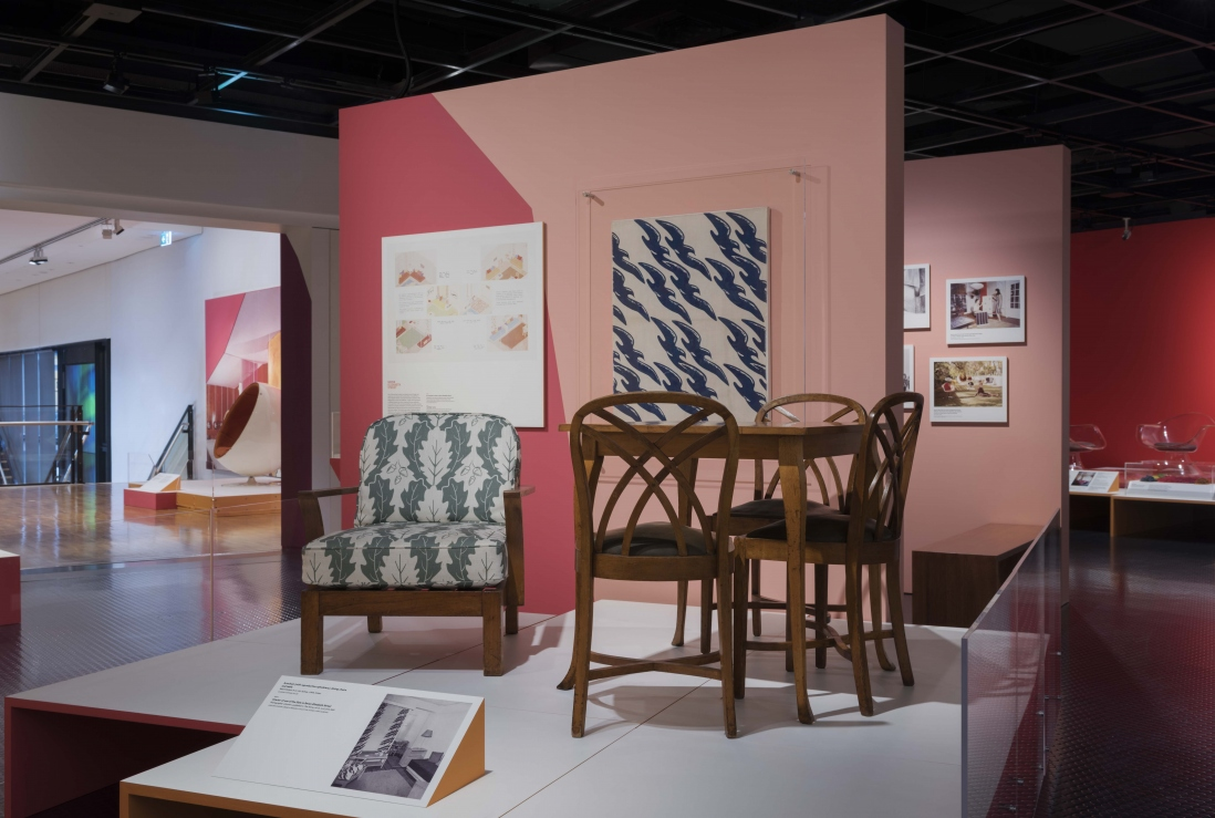 Marion Hall Best: Interiors exhibition installation view, Museum of Sydney, Saturday 5 August - Sunday 12 November 2017.