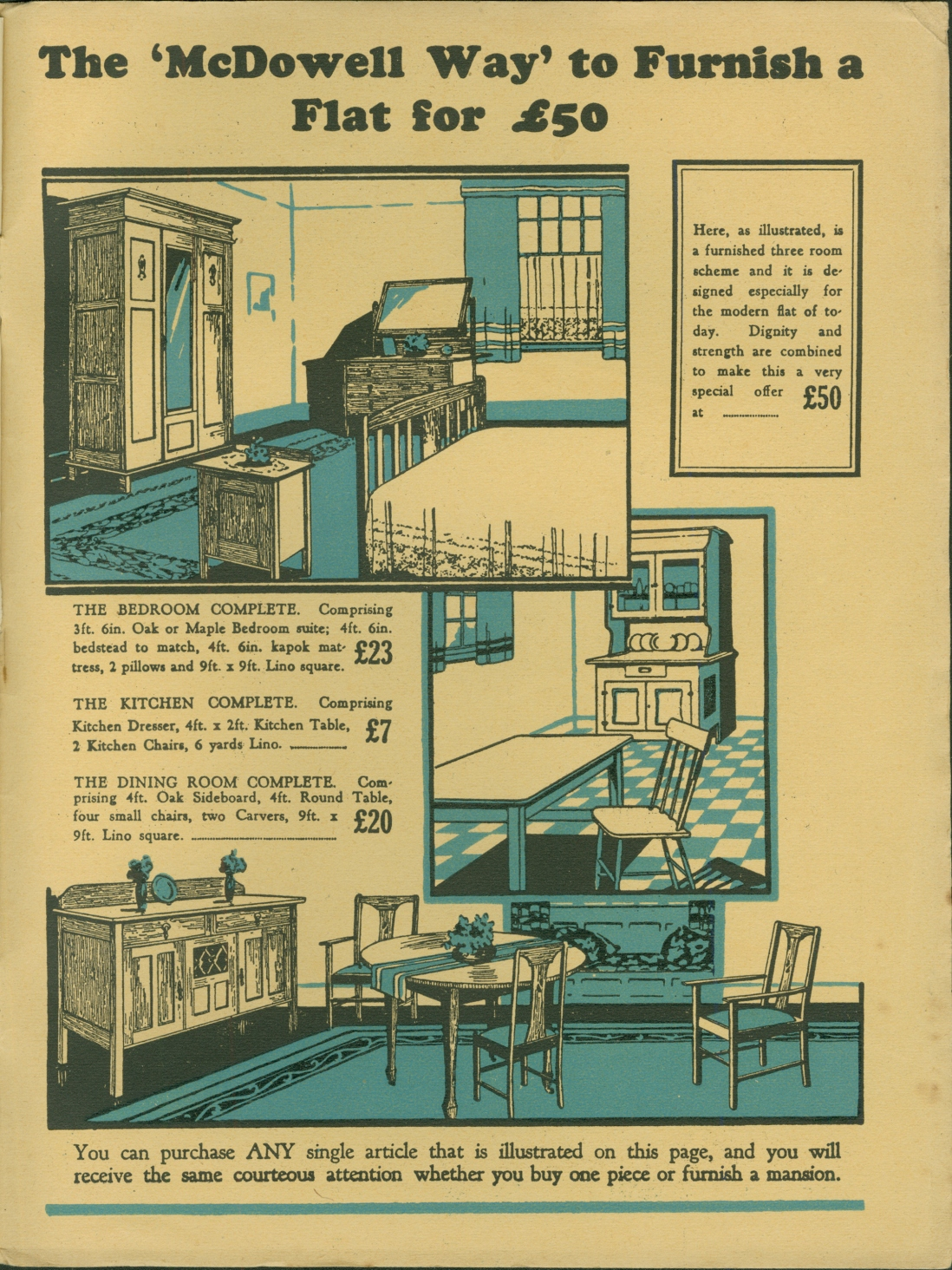 Page from catalogue, colour illustrations.