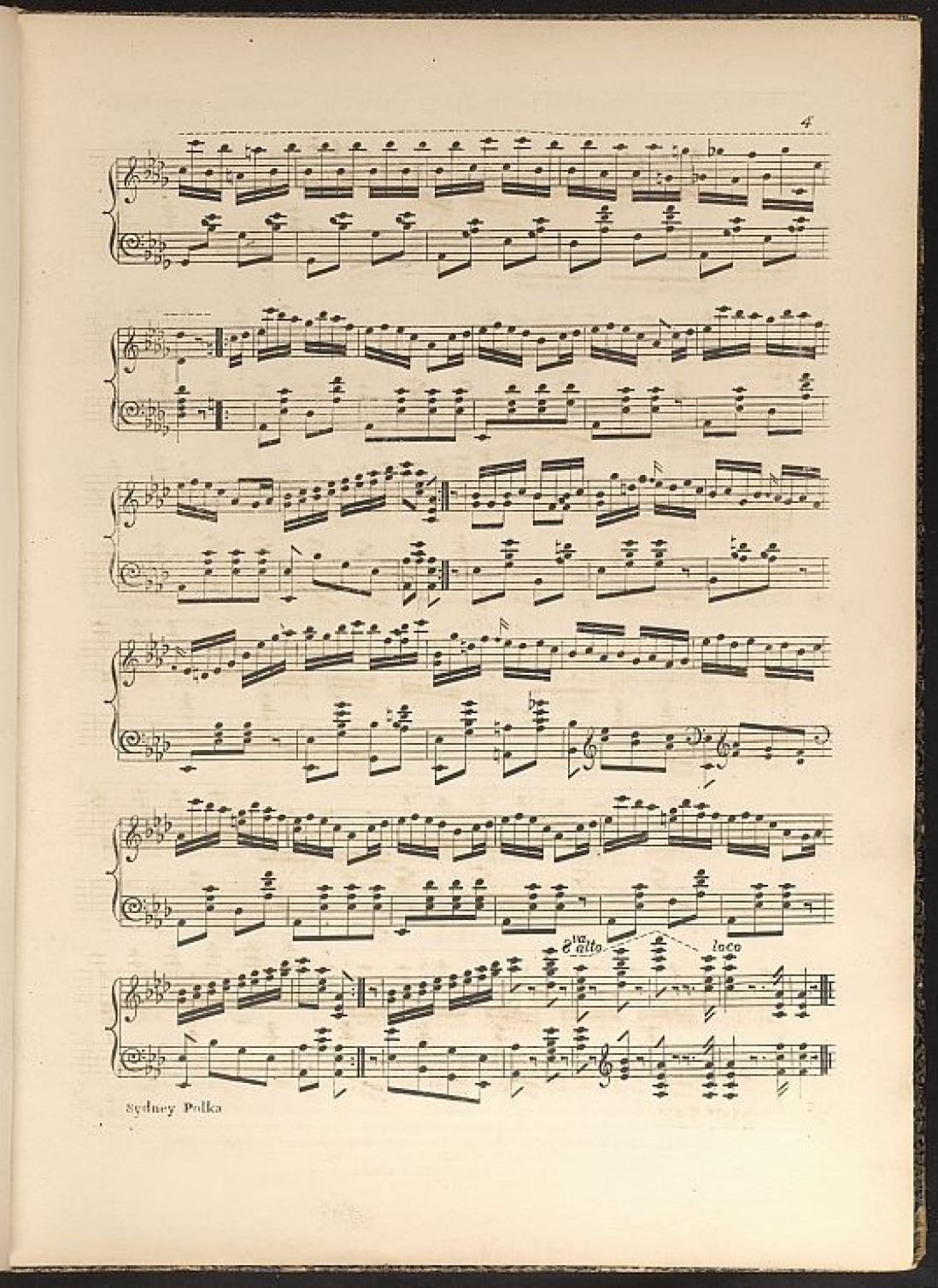 Page of sheet music