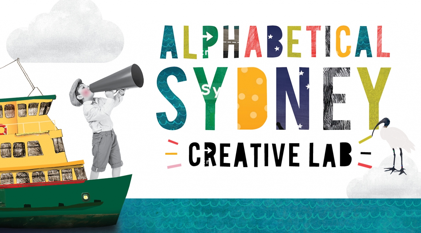 Banner for Alphabetical Sydney Creative Lab.