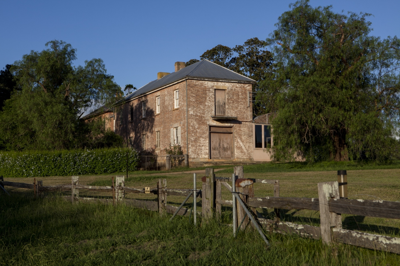 View of the back of the house, Rouse Hill House and Farm