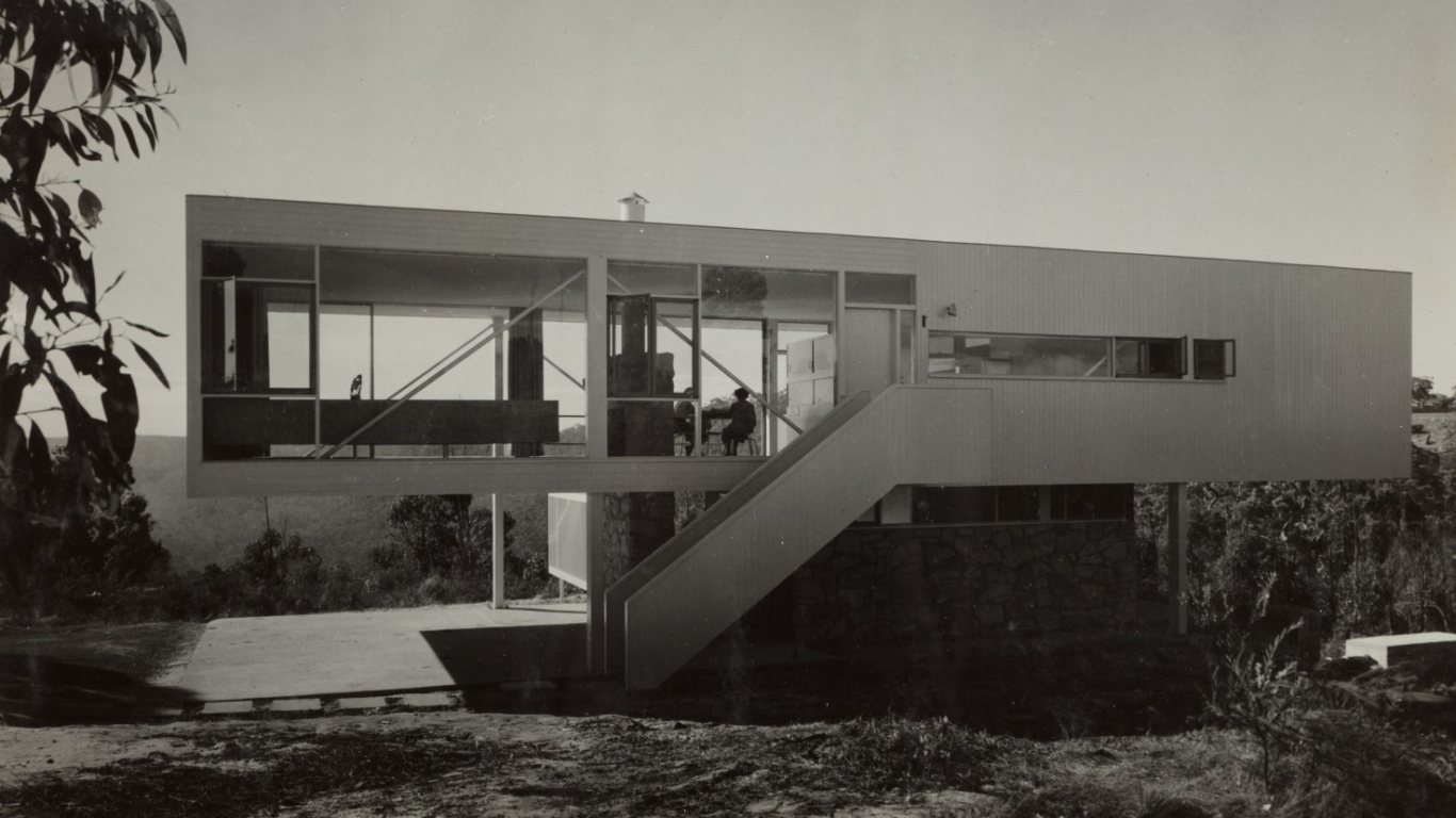Julian Rose house, designed by Harry Seidler 1949/1950.