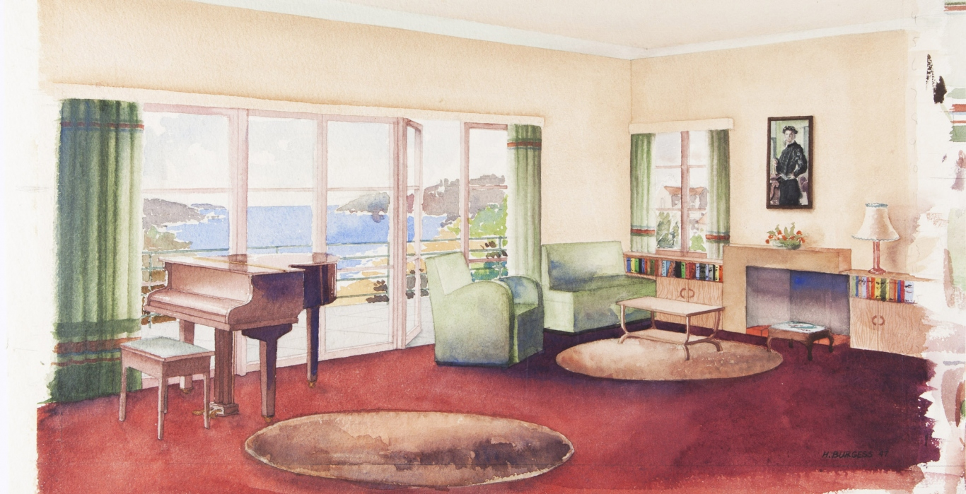 Interior Design Training In Sydney In The 1940s Sydney Living Museums