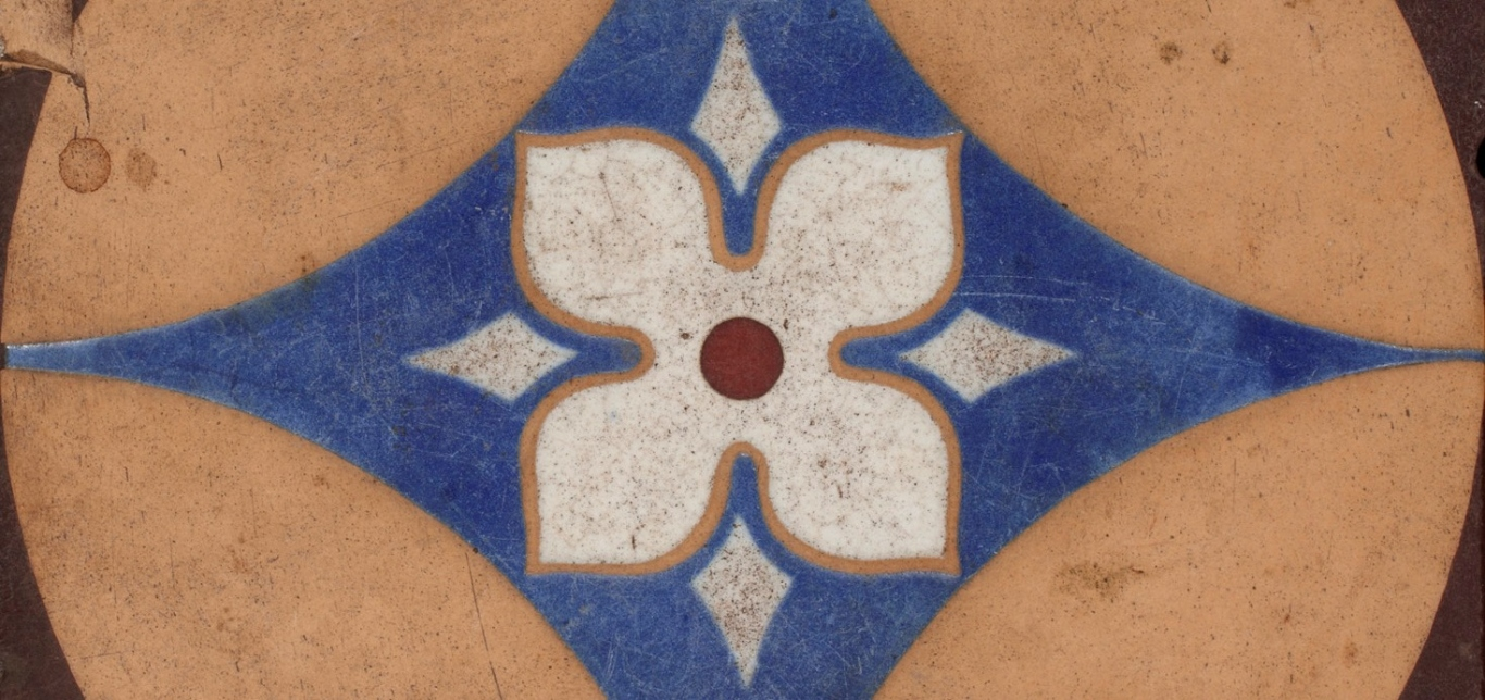 Encaustic tile (detail)