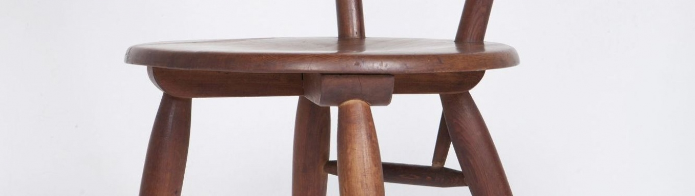 Side chair, detail