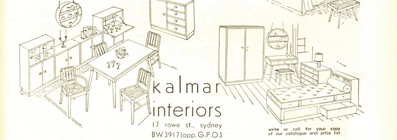 Kalmar advertisement AH&G April 1952