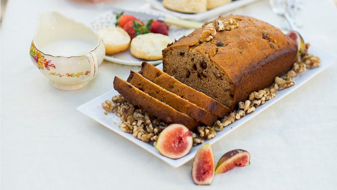 A selection of cakes made from Meroogal recipes Photo © James Horan for Sydney Living Museums