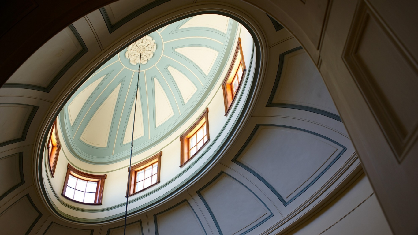 The dome at Elizabeth Bay House