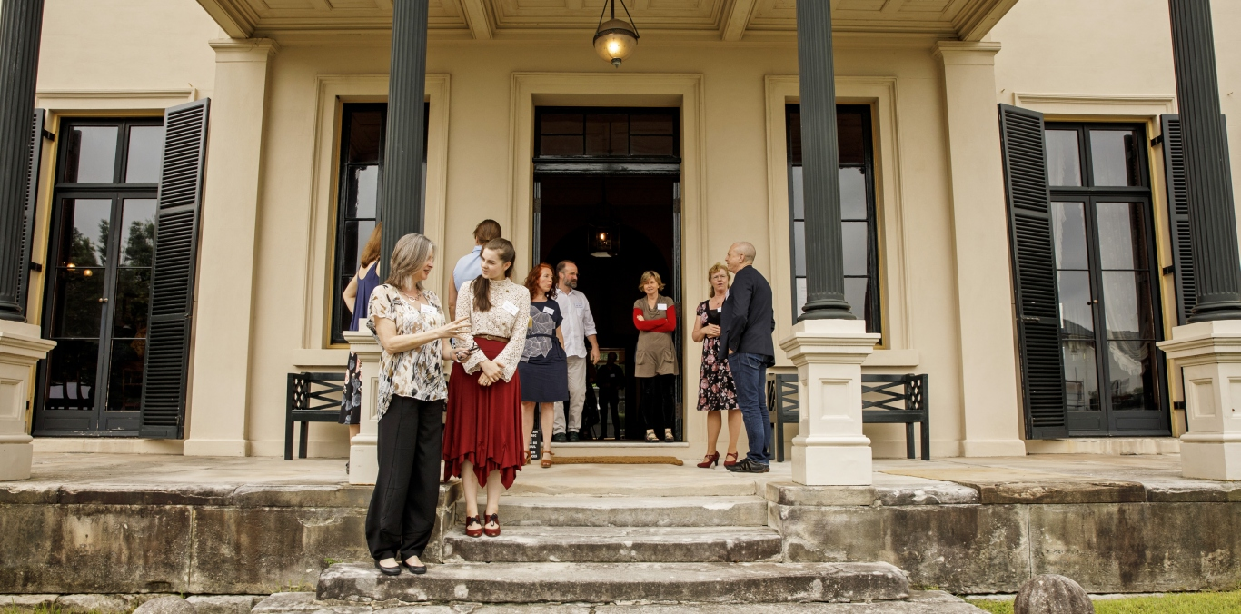 Performers and speakers, symposium 'Sound Heritage Sydney: Making Music in Historic Places', Elizabeth Bay House