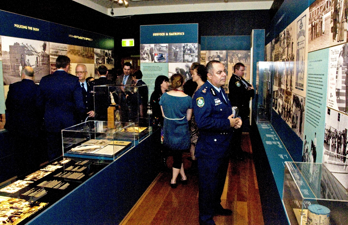 Deputy Commissioner Field Operations or NSW Police, Nick Kaldas at the Justice and Police Museum