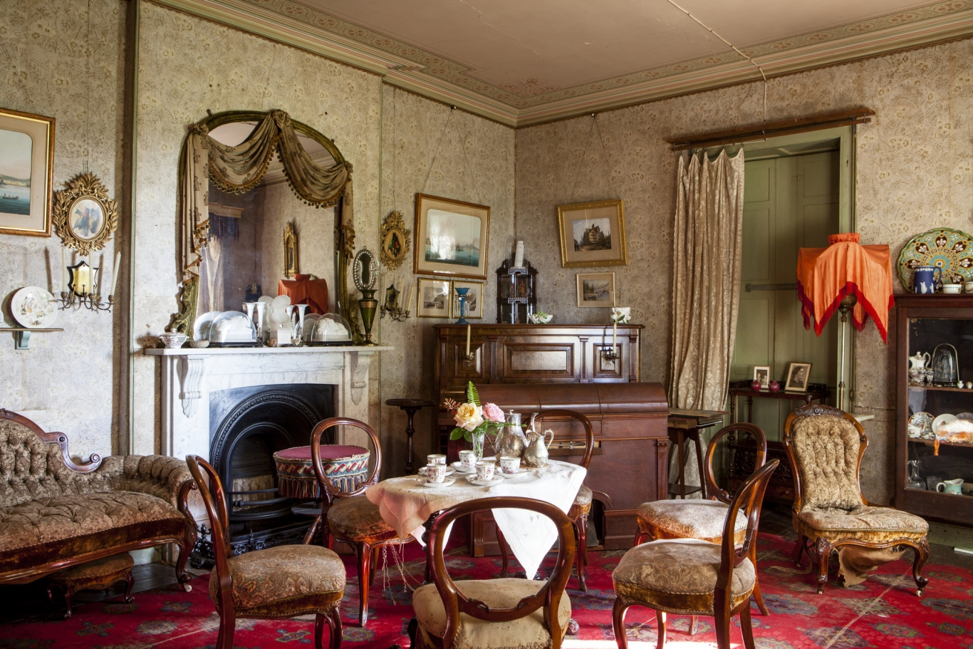 Drawing room, Rouse Hill House and Farm