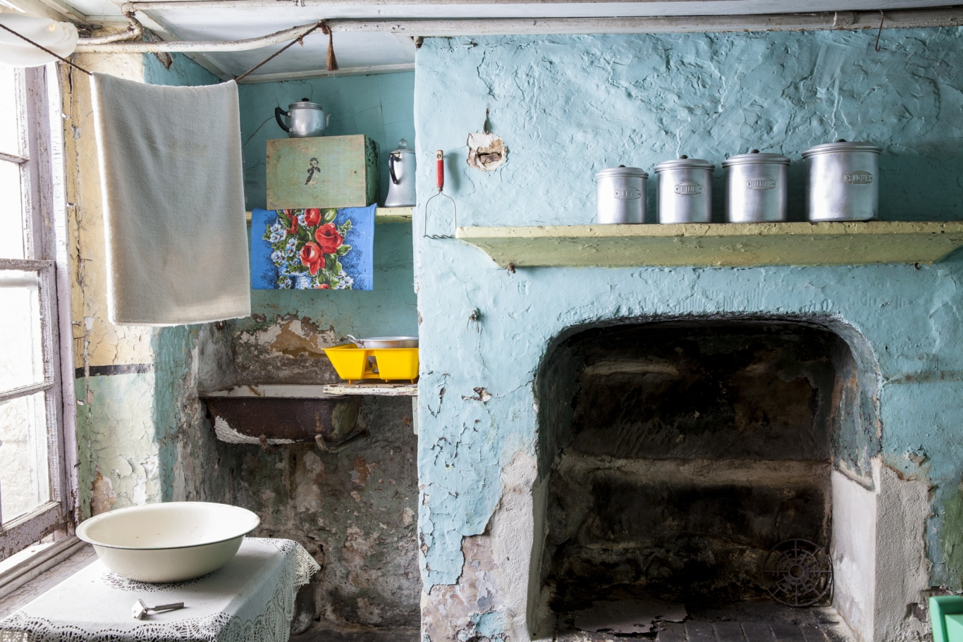 Basement kitchen, 58 Gloucester Street, Susannah Place Museum.