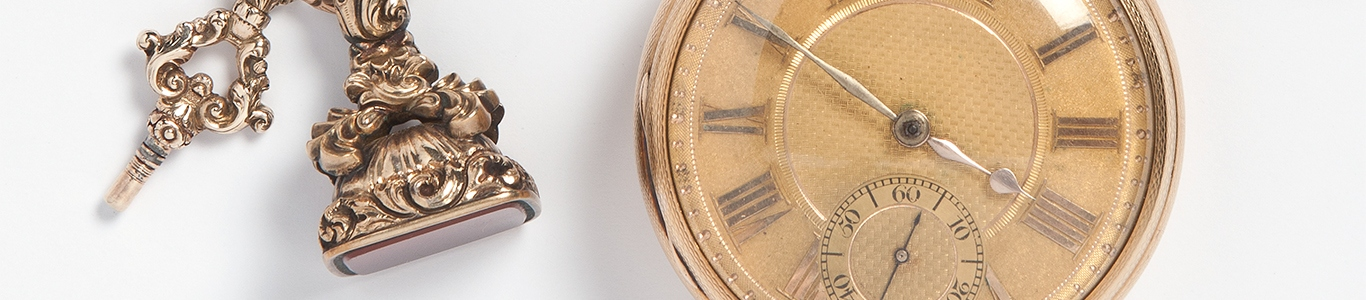 Original pocket watch owned by William Charles Wentworth.