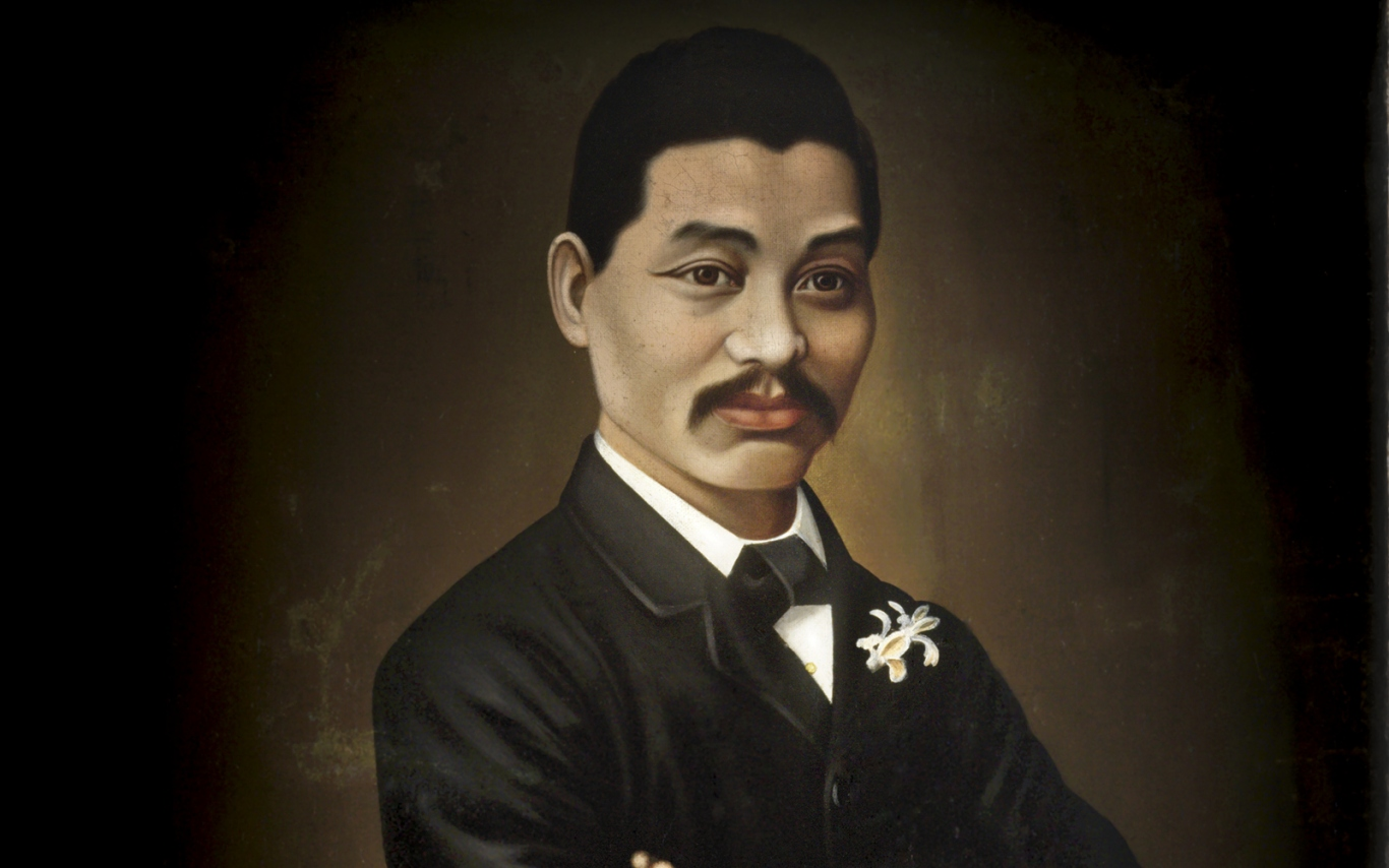 Portrait painting of Quong Tart