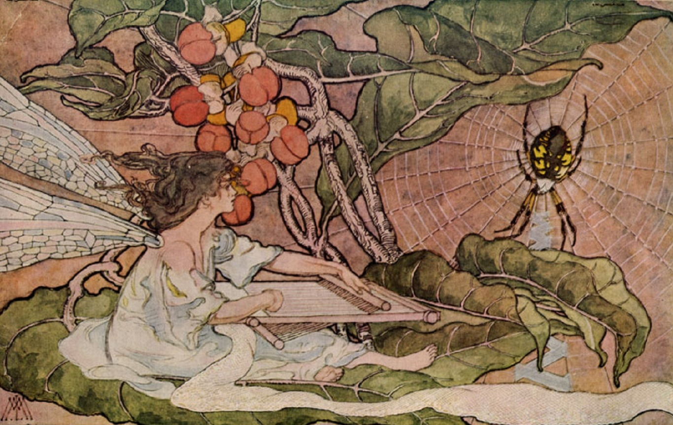 Illustration of a fairy
