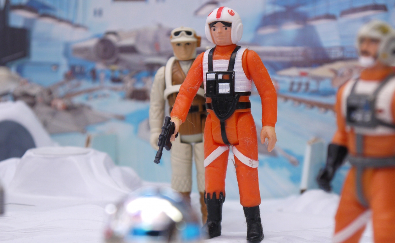 Image of toys from Star Wars