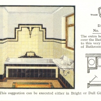 "Trade catalogue for ""Modern Bathroom Designs"" for H & R Johnson Ltd, Sydney, 1934."