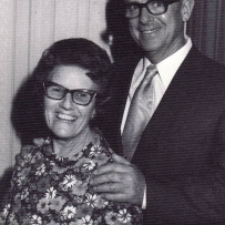 'Sonny' Chapman with his wife, Amy, in the 1970s
