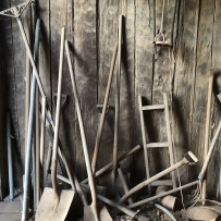 Conservation works on woolshed and related objects.