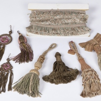 Silk fringe and tassels, from the Robert Lloyd collection