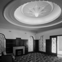 Entry vestibule, 'Birtley Towers', Elizabeth Bay, 1977