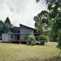 East elevation, Marks Family Property