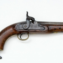 Pistol used by mounted police 19th century