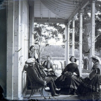 Group on verandah