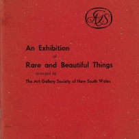 An exhibition of rare pieces of decorative art from private collections, 1961