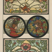 Design for stained glass