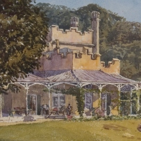 Vaucluse House watercolour (detail)