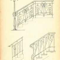 Designs for stair-rails