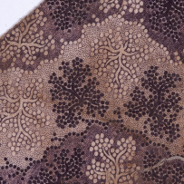 Purple textile fragmant