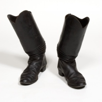 Mounted police riding boots