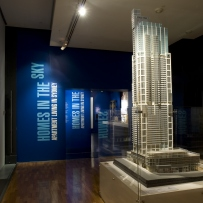 Homes in the sky: apartment living in Sydney - exhibition installation view