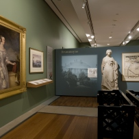 Lost gardens of Sydney exhibition installation view
