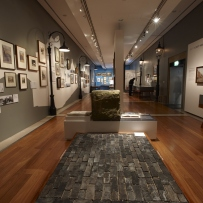 Painting The Rocks: the loss of Old Sydney exhibition installation view